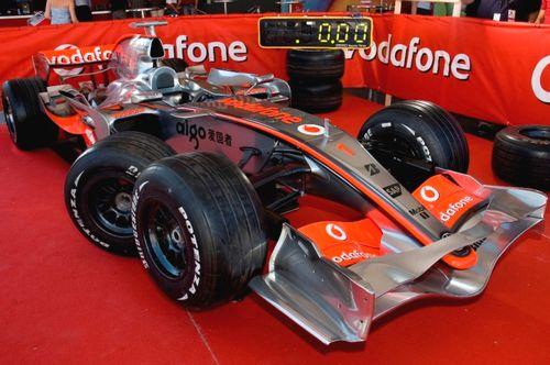 The Vodafone McLaren Mercedes Pit Stop Challenge