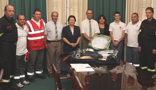 Gozo Red Cross members awarded certificates