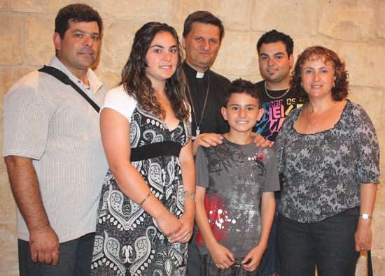 Celebrations for the feast of St Margaret in Sannat