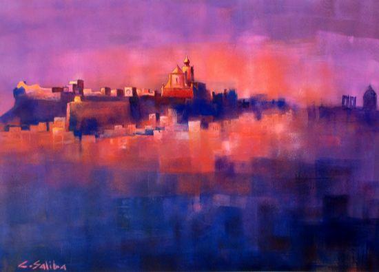 Art exhibition by Christoper Saliba at the Cittadella