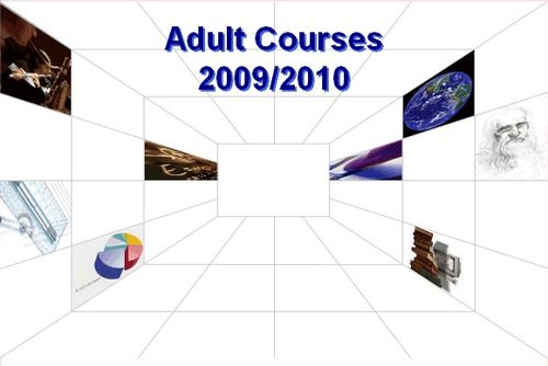 Evening courses for adults starting in October