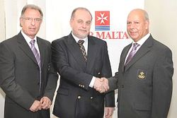 Air Malta renews its support to the Maltese Olympic Committee