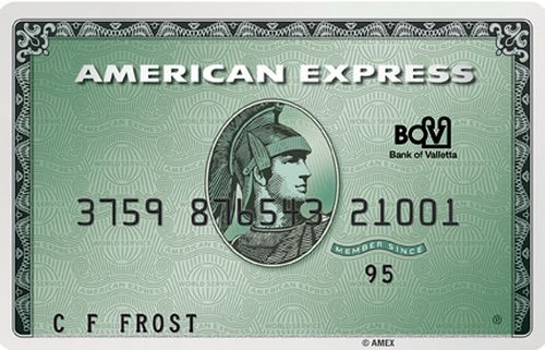 Special American Express Green Card promotion launched by BOV