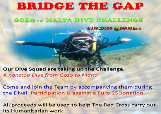 Red Cross Gozo are going to 'Bridge the Gap'