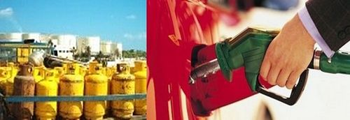 Steep rise in gas price, fuel prices down slightly
