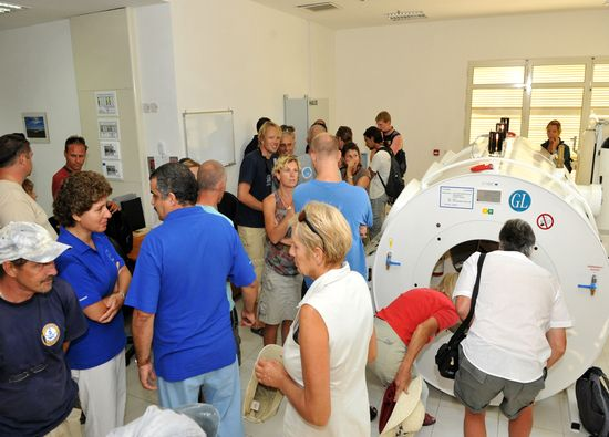 Open day at Gozo General Hospital Hyperbaric Unit