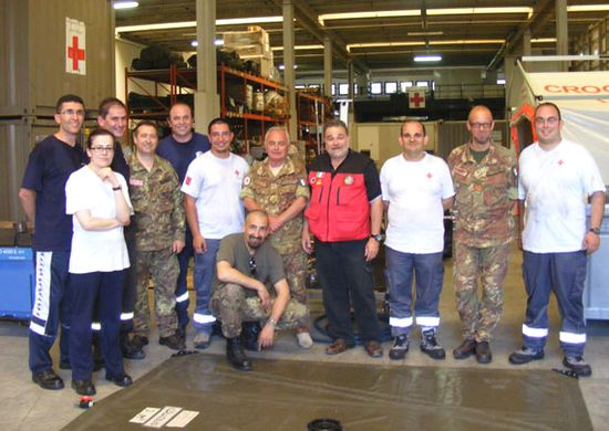 Gozo team participates in CBRN course in Italy