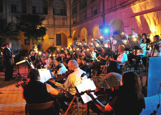 'Opera vs Pop Under the Stars' at the Gozo Ministry's courtyard