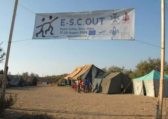 Xaghra Scout group holds an eight day camp at Ramla