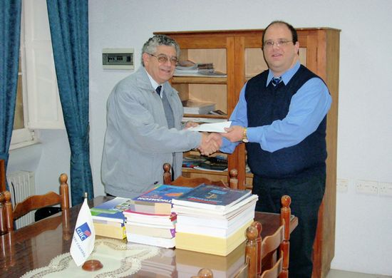 Third donation of publications to Gozo Business Chamber