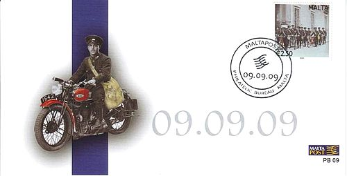 Maltapost to issue 9th Philatelic card with same day, month, year