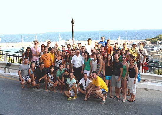 AEGEE-Valletta's Summer University visits Gozo