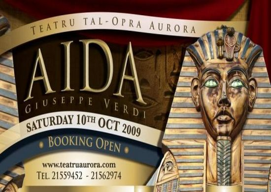 Top International Cast for 'Aida' at the Teatru tal-Opra Aurora