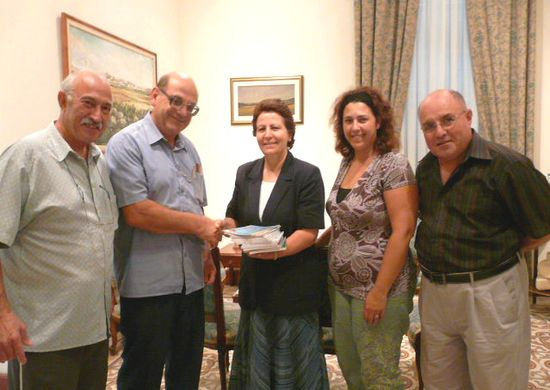 Exhibition of books by Anton Saliba at Gozo Ministry