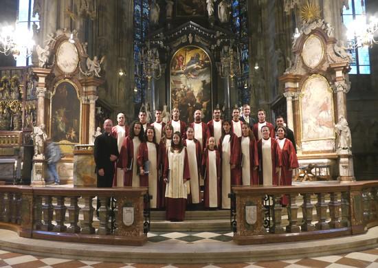 Schola Cantorum Jubilate visits Austrian cities