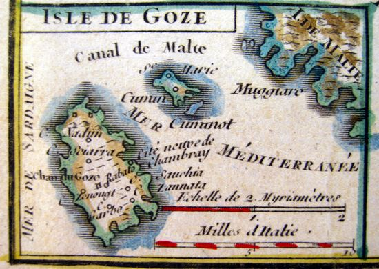 Unique Exhibition on Miniature Maps of Gozo and Malta