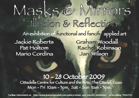 'Masks & Mirrors' - Illusion & Reflection exhibition