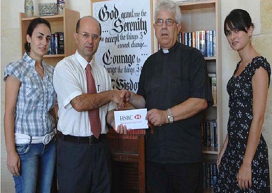 HSBC supports Gozo OASI life-learning programme
