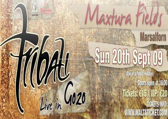 Tribali back live in Gozo at Maxtura Fields Marsalforn