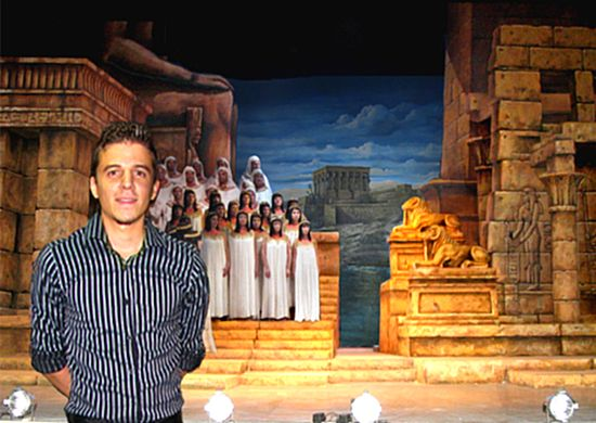 Paul Falzon's scenery for Aida another huge success