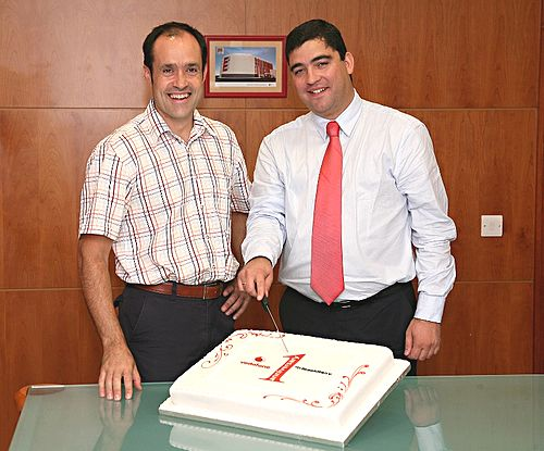 Vodafone Malta's 1st Anniversary of its BlackBerry solution