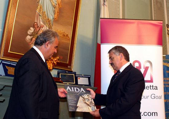 Bank of Valletta supports AIDA at the Aurora Theatre
