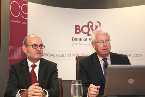 Bank of Valletta announce Financial Results for 2009