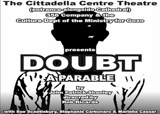 'Doubt'  - a Pulitzer Prize play at the Cittadella Centre