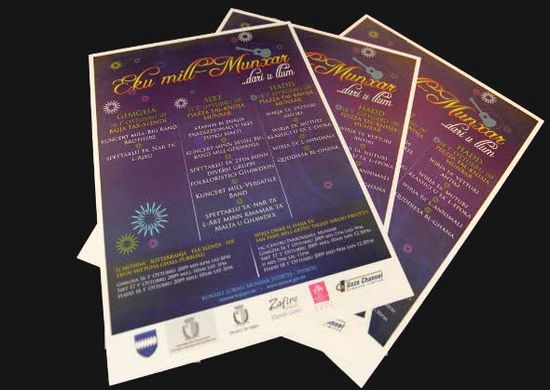 'EKU Mill-Munxar Dari u llum' festival this weekend