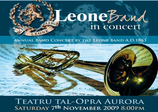 The annual Leone Band concert at Aurora next month