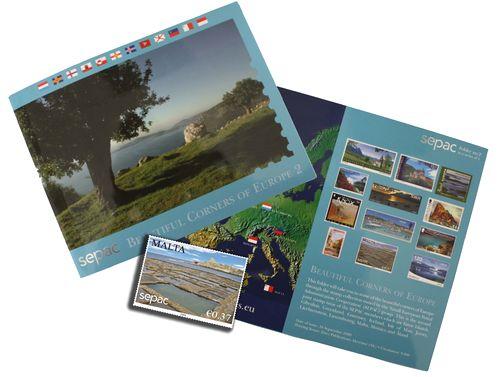 "Sepac Folder 2009 ""Beautiful Corners of Europe 2"" features Qbajjar"