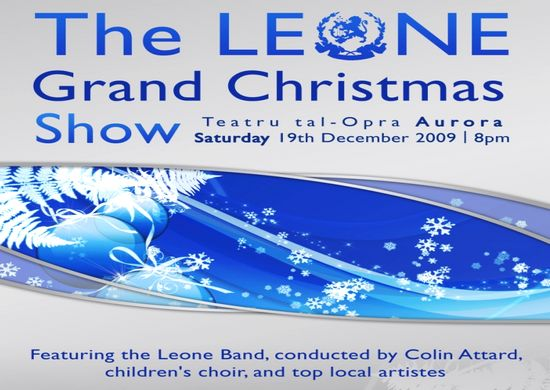 The Leone Band hold a Grand Christmas variety Show