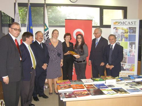 Vodafone Malta Foundation donates educational material to MCAST