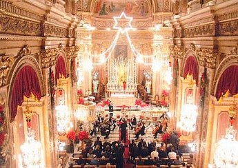 Annual Christmas Concert 2010 held at the Xaghra Basilica