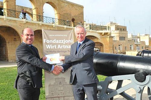 GO supports Fondazzjoni Wirt Artna, the Malta Heritage Trust