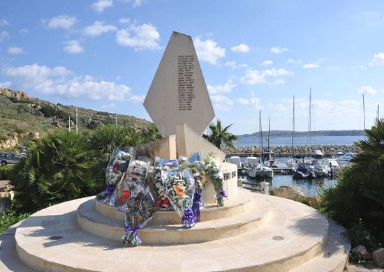 Commemoration of one of Gozo's worst sea tragedies