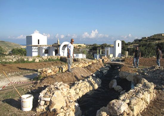Bethlehem f'Ghansielem nativity village nears completion