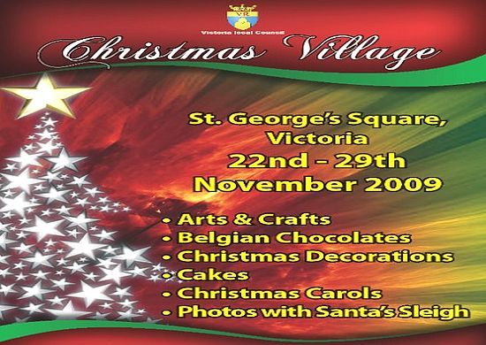 Christmas Village to be held in St. George's Square