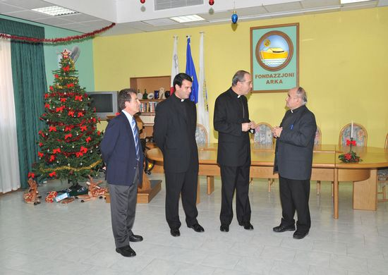 Apostolic Nuncio to Malta visits the Arka Respite Centre