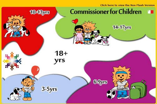Launch of the Official Website of the Commissioner for Children