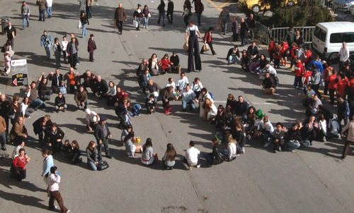 Maltese citizens send a clear message to World Leaders in Copenhagen