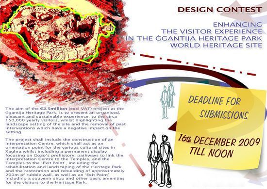 Winner of the Ggantija Heritage Park Design Contest
