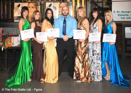 The BodyForge sponsors Gozo Beauties contestants