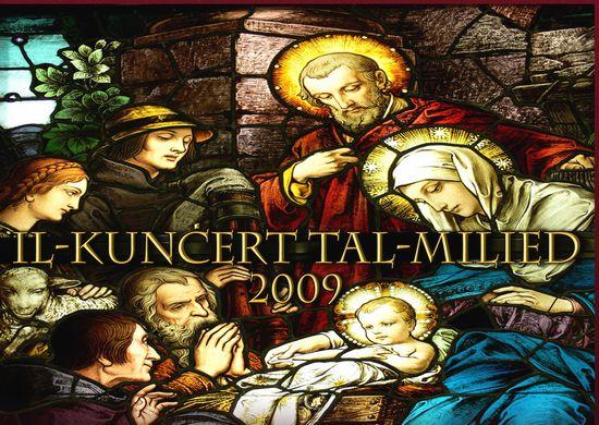 """12th """"Il-Kuncert tal-Milied 2009"""" at St George's Basilica"""