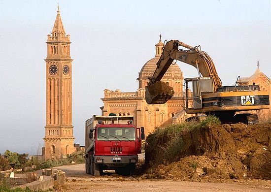 Work starts on the Ta' Pinu road widening scheme