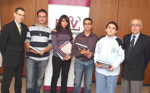 Excellence in the English Language promoted by Bank of Valletta