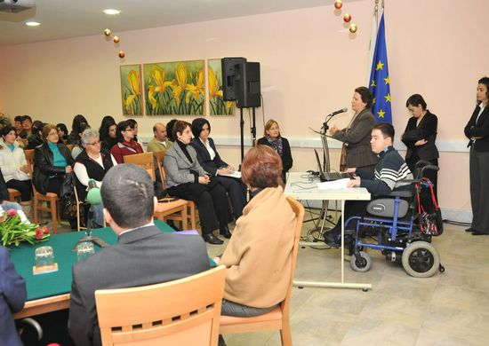 Disability day celebrated at the Santa Marta Centre