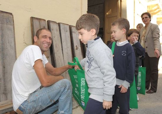Qala children lead the way in protecting the environment