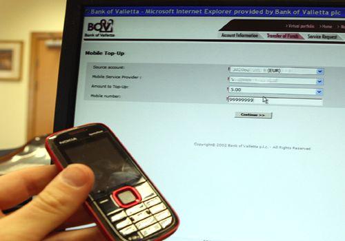 BOV introduces mobile phone balance top-ups