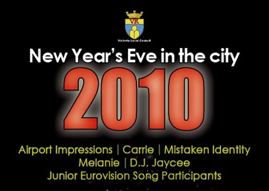 Victoria Local Council's 'New Year's Eve in the City'